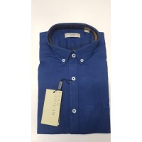 BURBERRY Mens Long Sleeve Cotton Shirt