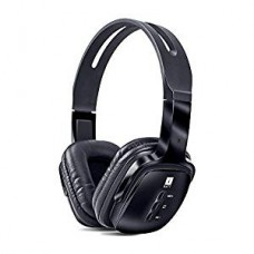 iBall BT4 Over Ear Wireless Headphones With Mic Black