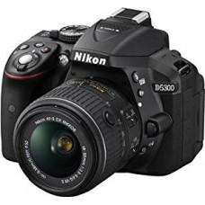 Nikon D5300 with AF-P DX NIKKOR 18mm-55mm f/3.5-5.6G VR Lens , Memory card and Bag DSLR