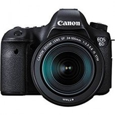 Canon DSLR EOS 6D with 24-105mm Lens