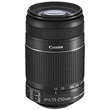 Canon-EF-S 55-250mm f/4-5.6 IS II Lens Telephoto Zoom with White Box