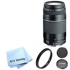 Canon EF 75-300mm f-4-5.6 III Telephoto Zoom Lens for Canon EOS 7D 60D EOS 70D