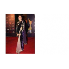 Anushka Sharma Bollywood Designer Pure Net Saree 502