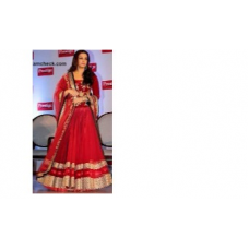 Aishwarya Rai Bollywood Designer Border Red Saree 566