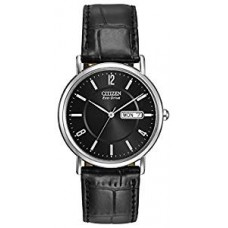 Citizen Eco Drive Shiny Black Watch for men