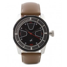 Fastrack 3099sl04 Leather Analog