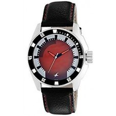 Fastrack 3089Sl10 Black Leather Analog Watch